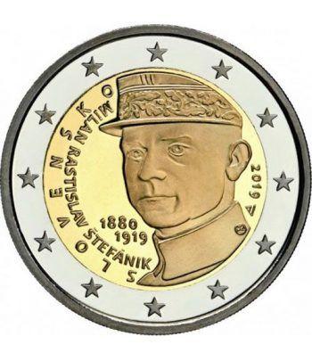 moneda conmemorativa 2 euros Eslovaquia 2019  - 2