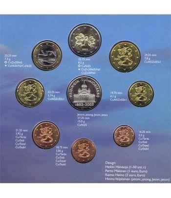 Cartera oficial euroset Finlandia 2002  - 4