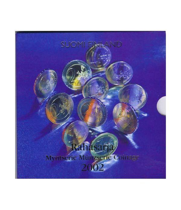 Cartera oficial euroset Finlandia 2002  - 1