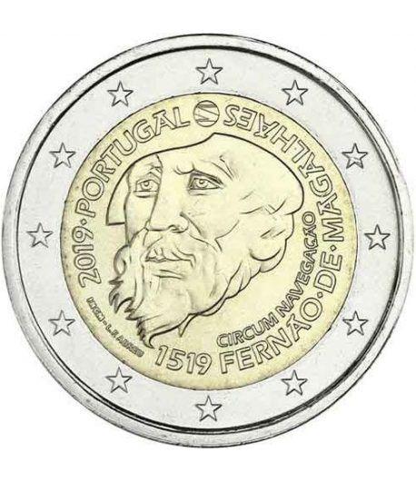 moneda conmemorativa 2 euros Portugal 2019 Magallanes  - 2
