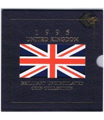 Estuche monedas Inglaterra 1995  - 1
