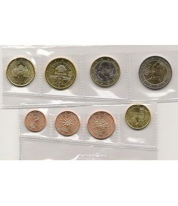 monedas euro serie Austria 2019.  - 2