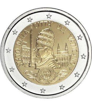 moneda conmemorativa 2 euros Vaticano 2019 Fundación.  - 2