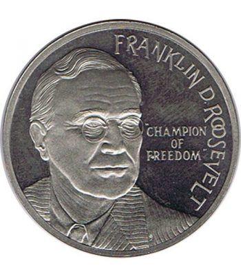 Moneda 2.5 ECU de Holanda 1994 Roosevelt. Niquel.  - 1
