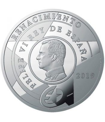 Moneda 2019 Europa. Renacimiento. 10 euros. Plata.  - 2