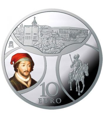 Moneda 2019 Europa. Renacimiento. 10 euros. Plata.  - 4