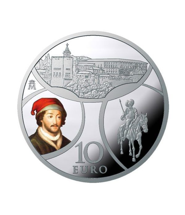 Moneda 2019 Europa. Renacimiento. 10 euros. Plata.  - 1