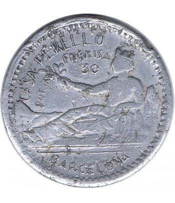 Medalla Casa Perelló. Fabrica de Moneders i Carteres. Niquel  - 1