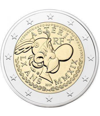 moneda conmemorativa 2 euros Francia 2019 Asterix.  - 2