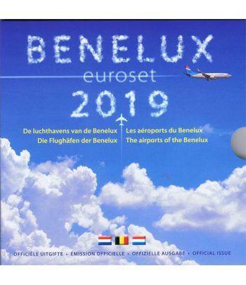 Cartera oficial euroset Benelux 2019.  - 1