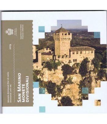 Cartera oficial euroset San Marino 2019.  - 2