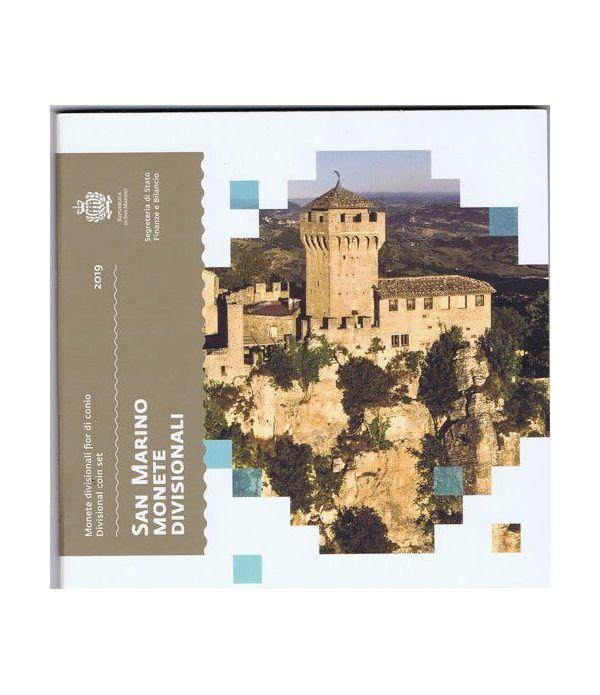 Cartera oficial euroset San Marino 2019.  - 1