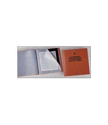 LEUCHTTURM Album para Pliegos 370x385. 24 departamentos. Guardapliegos - 2
