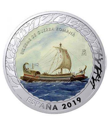 Monedas 2019 Historia de la Navegación IV. 4 monedas.  - 2