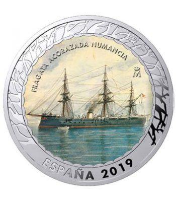 Monedas 2019 Historia de la Navegación IV. 4 monedas.  - 4