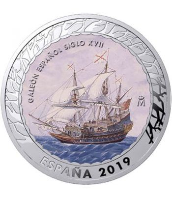 Monedas 2019 Historia de la Navegación IV. 4 monedas.  - 6