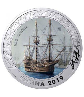 Monedas 2019 Historia de la Navegación IV. 4 monedas.  - 10