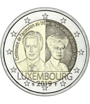 moneda conmemorativa 2 euros Luxemburgo 2019 Charlotte  - 2