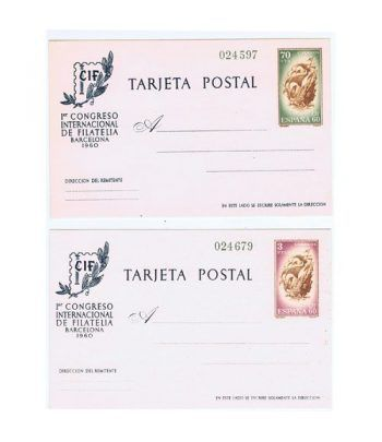 Colección Entero Postales de España 1960/2010.  - 1