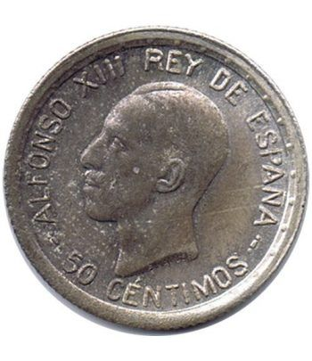 50 céntimos Plata 1926 Alfonso XIII PC S. SC  - 1