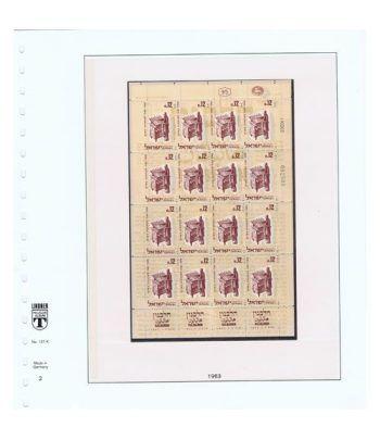 Colección Sellos de Israel Minipliegos 1963 al 2016. LUJO  - 4