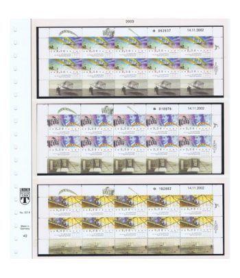 Colección Sellos de Israel Minipliegos 1963 al 2016. LUJO  - 8