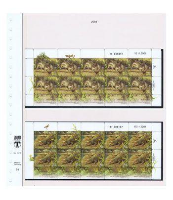 Colección Sellos de Israel Minipliegos 1963 al 2016. LUJO  - 10