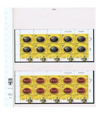 Colección Sellos de Israel Minipliegos 1963 al 2016. LUJO  - 12