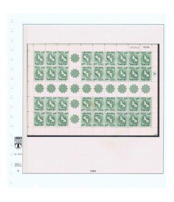 Colección Sellos de Israel Minipliegos 1963 al 2016. LUJO  - 16