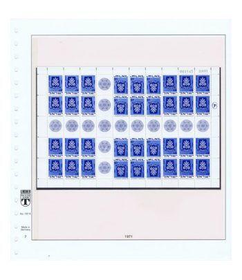 Colección Sellos de Israel Minipliegos 1963 al 2016. LUJO  - 22