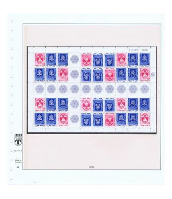 Colección Sellos de Israel Minipliegos 1963 al 2016. LUJO  - 24