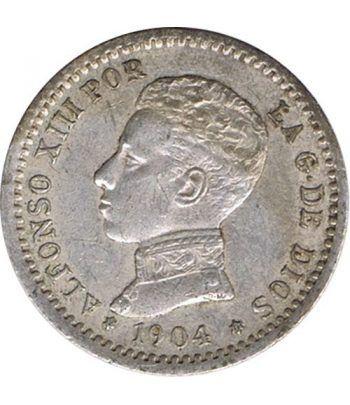 50 céntimos Plata 1904 *10 Alfonso XIII PC V.  - 1