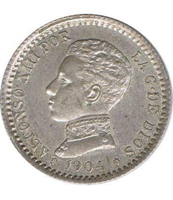 50 céntimos Plata 1904 *04 Alfonso XIII SM V.  - 1
