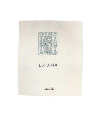 Edifil 'España 1936/49 (montado con estuches) Hojas sellos Edifil - 2