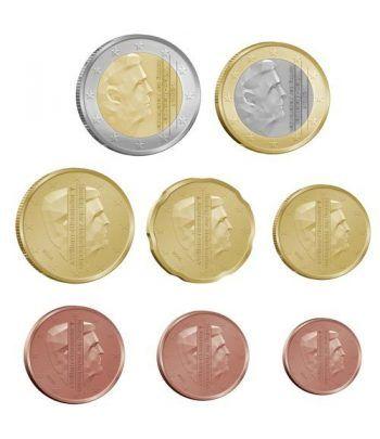 monedas euro serie Holanda 2014. Nuevas monedas.  - 2