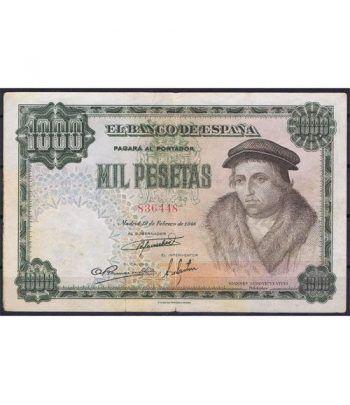 (1946/02/19) Madrid. 1000 Pesetas. MBC. Serie 836448  - 1