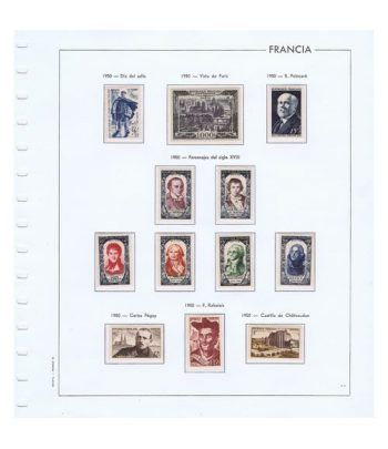 Colección Sellos de Francia 1950/2001 con HB y Carnets.  - 2