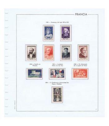 Colección Sellos de Francia 1950/2001 con HB y Carnets.  - 10