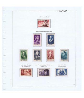 Colección Sellos de Francia 1950/2001 con HB y Carnets.  - 12