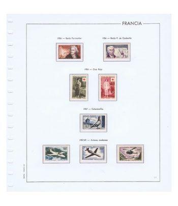 Colección Sellos de Francia 1950/2001 con HB y Carnets.  - 14