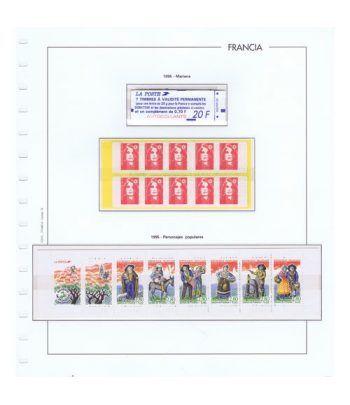 Colección Sellos de Francia 1950/2001 con HB y Carnets.  - 20