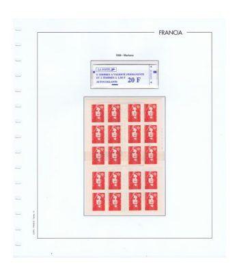 Colección Sellos de Francia 1950/2001 con HB y Carnets.  - 22