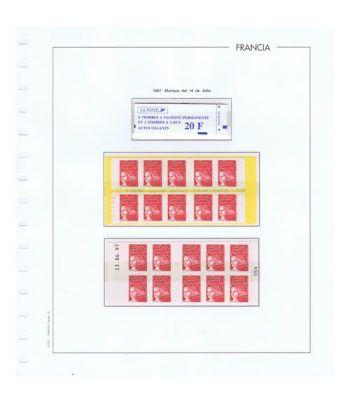 Colección Sellos de Francia 1950/2001 con HB y Carnets.  - 24