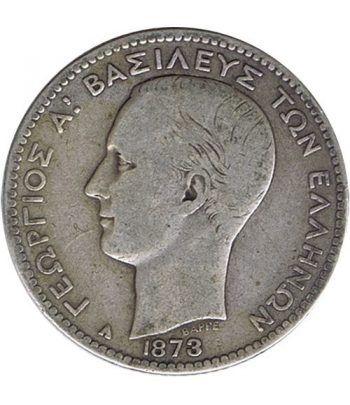 Moneda de plata 1 Dracma Grecia 1873  - 1