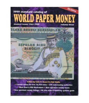 Catalogo billetes mundial WORLD PAPER 1961-1999. Edición 5. Catalogos Billetes - 2