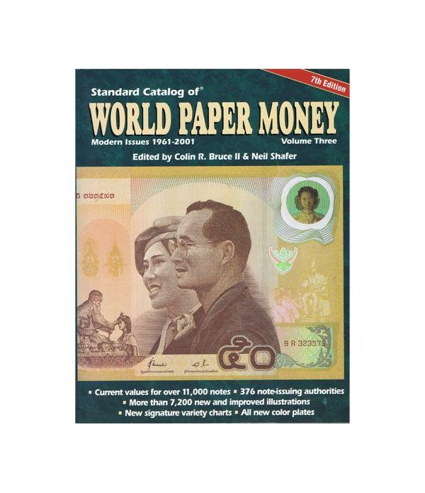Catalogo billetes mundial WORLD PAPER 1961-2001. Edición 7 Catalogos Billetes - 2