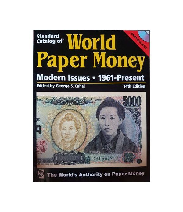 Catalogo billetes mundial WORLD PAPER desde 1961. Edicion 14. Catalogos Billetes - 2