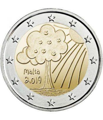 moneda conmemorativa 2 euros Malta 2019 Naturaleza.  - 2