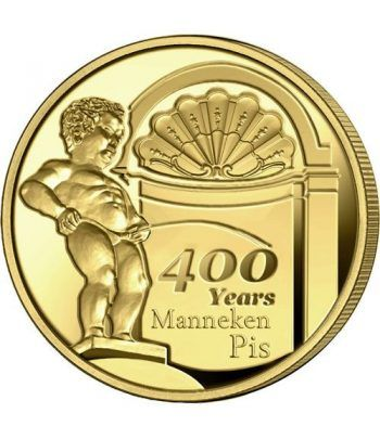 moneda Belgica 2.5 Euros 2019 400 años del Manneken Pis  - 2