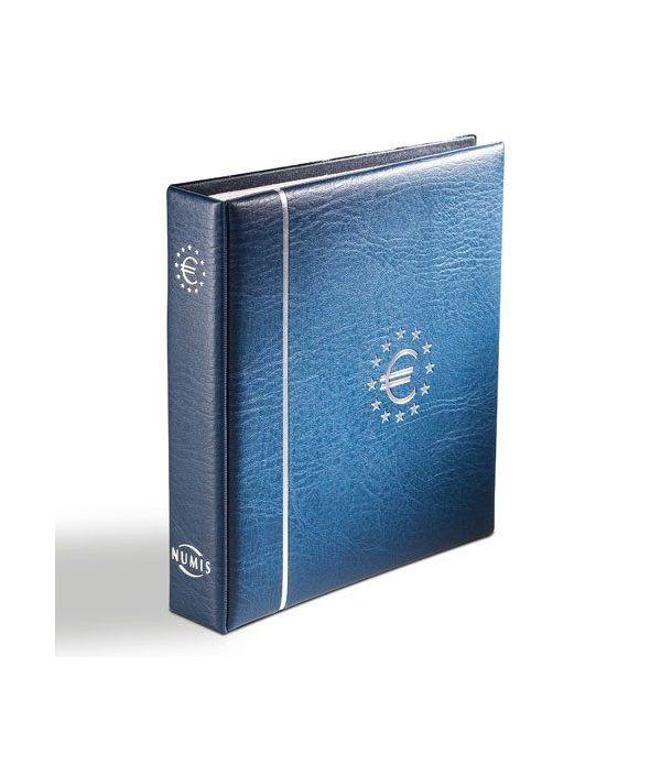 LEUCHTTURM Numis Album Euro + 7 hojas (21 paises). Con cajetín. Album Monedas Euro - 1